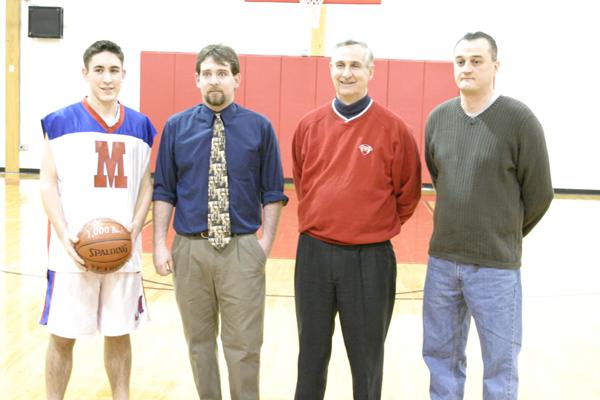 Brett Huntley, Justin Shope, Matt Montross (Carter-Father) & Bob Deruchie
